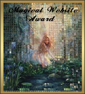 Lavenderwater's Magical Website Award 2004