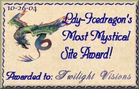 Ldy-Icedragon's Most Mystical Site Award