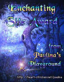 Paulina's Playground Enchanting Site Award