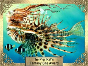 Pier Rat's Fantasy Site Award