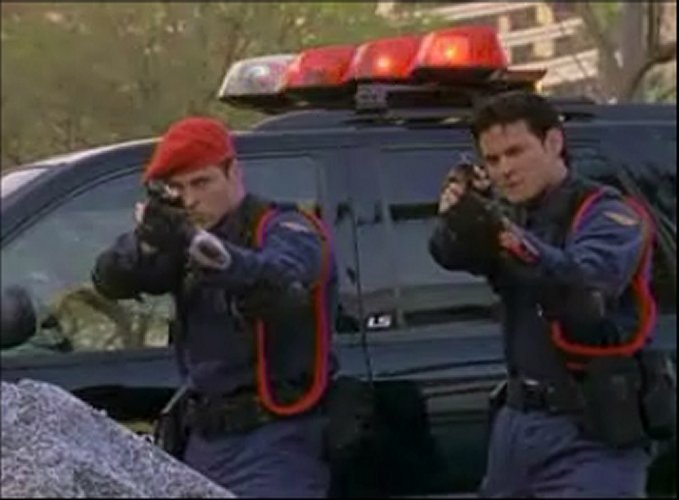 Fighting A Speeding Ticket >> Wild Force - 24 - Reinforcements from the Future, Part I